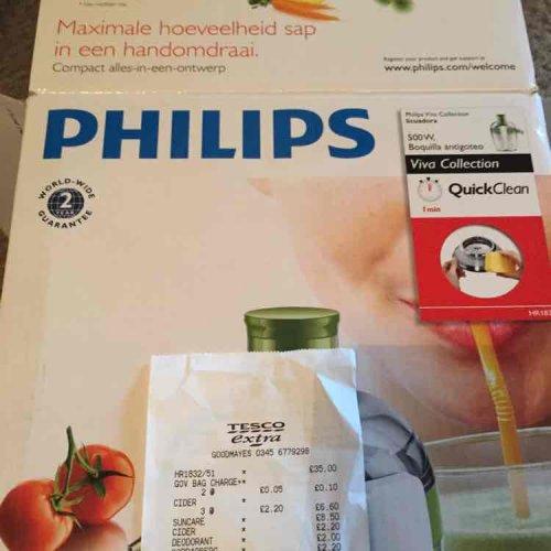 Philips hr1832/51 £35 @ tesco instore
