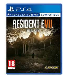 Resident Evil 7 Biohazard (PS4/PSVR) Used - Like New  £23.81  Boomerang via Amazon