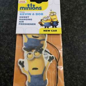 Minions car air freshener instore @ Tesco Durrington Extra just 25p each