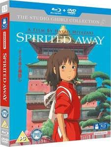 Spirited Away on Blu-Ray+DVD £9.99 (with Prime) £11.98 (Without) @ Amazon