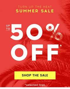 Up to 50% off Summer Sale @ Cloggs *Now with an extra 10% off*