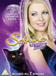 Sabrina, The Teenage Witch - Season 1-7 DVD £17.99 @ Zavvi