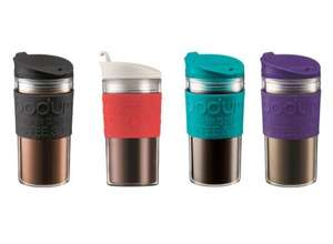 Bodum Bistro Travel Mugs (Black, Red, Green, Purple) £6 @ Tesco Direct