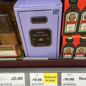 Patrôn coffee tequila @ Tesco reduced £10.60
