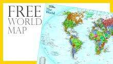 National Geographic 1 year subscription (£15.00) plus FREE World Map, FREE Digital Access and Archives @ Magazine.co.uk