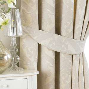 "Riva Paoletti ""Renaissance"" Pencil Pleat Curtains £56.23 @ Amazon"
