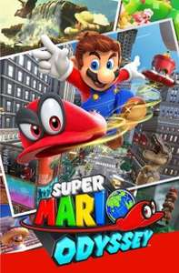 Super Mario Odyssey Simply Games Pre Order £44.85 First Class postage @ Simply games