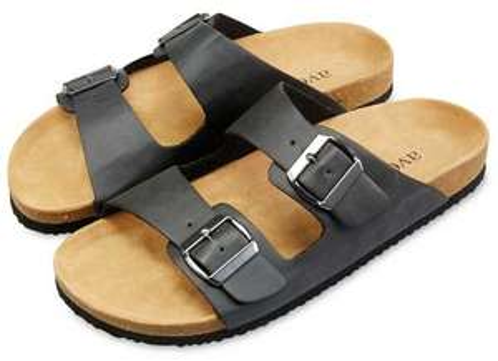 Black or brown sandals £6.99 delivered @ ALDI