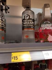 Russian Standard 1l only £15 @ Morrisons