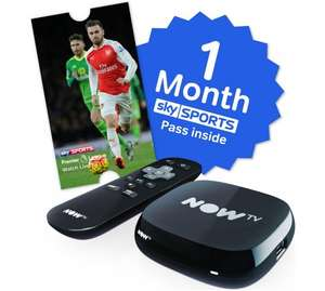 now tv with 1 months sky sport - £24.99 @ argos online