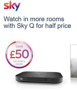 Additional Sky Q Mini Boxes on Offer for only £49 Each for Existing Customers @ Sky