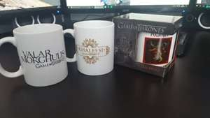Game of Thrones 11oz mugs £1.25 each @ Bargain Buys