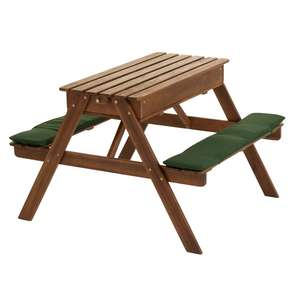 Kids Picnic Table / Sand Pit & Water Tray Now £40 delivered at Wilko