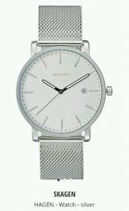 Skagen Silver Mens Watch - £68.90 (inc P&P) at Zalando Lounge UK