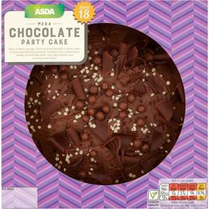 Asda mega chocolate cake serves 12 to 18 people was 600 now asda mega chocolate cake serves 12 to 18 people was 600 now publicscrutiny Image collections