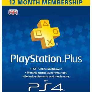 PS Plus 12 Month (AMAZON)