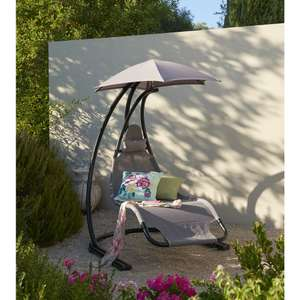 Garden Swing Chair Metal (was £140) Now £100 delivered at Wilkos