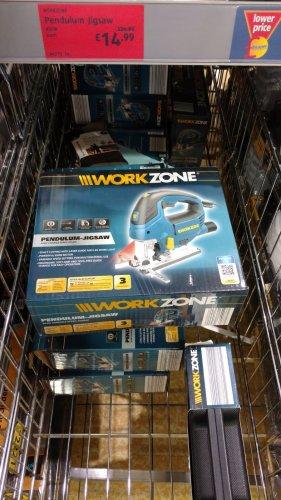 £15 Aldi Workzone 850W Jigsaw with Laser-3 YRS MANUFACTURER`S WARRANTY