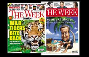 6 free issues of a new magazine The Week Junior