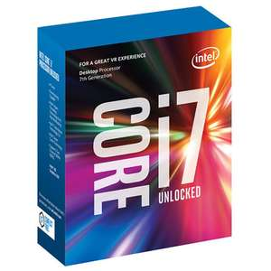 Intel Core i7-7700K 4.2 GHz QuadCore 8MB Cache Processor £301 @ Amazon