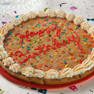 "Giant 12"" Personalised Cookie at Morrisons only £5.00 can be any message - normally £7.00 @ Morrisons"