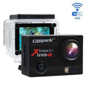 Campark ACT74 Action Camera 4K 16MP Wi-Fi Sport Cam Underwater 30M Diving Camcorder with 2.0 Inch LCD Screen 170° Wide Angle(£19 Gift Included - Portable Case + 2 Batteries) £35.99 Sold by TODEAL and Fulfilled by Amazon.