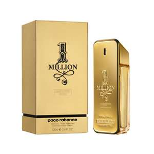 Paco Rabanne 1MILLION for him absolutely gold parfum (100ML) - was £74 now £45 @ LookFantastic