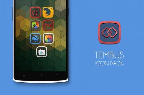 Tembus icon pack