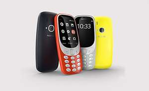 New Nokia 3310 Yellow back in stock £49.99 at CPW (Red also available)