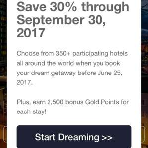 Carlson Club - 30% Off SelectedHotels
