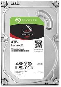Seagate IronWolf 4TB NAS hard drive £109.99 delivered @ box.co.uk