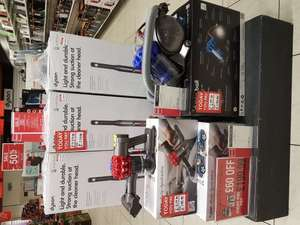 Dyson sale. Dc40 £220. V6 car and boat extra £199. Dc49 £199 @ Beales instore