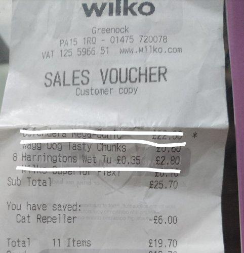 Harringtons Wet Dog Food Turkey 400g @ Wilko Was £1.40 Now 35p