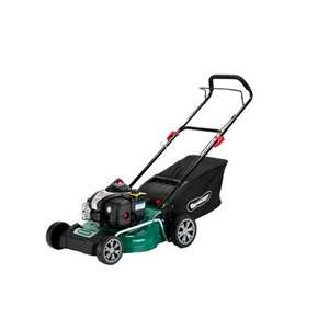 Qualcast self propelled petrol mower down from £229 to £179 - Homebase