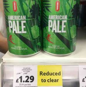Fourpure American Pale Ale 330ml £1.29 reduced from £1.99 @ Tesco - Holbeck (Leeds)