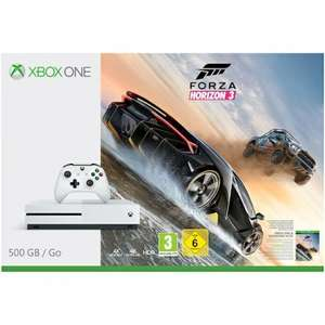Xbox one s 500gb with forza horizon / fifa 17 £188.99 - Grainger Games