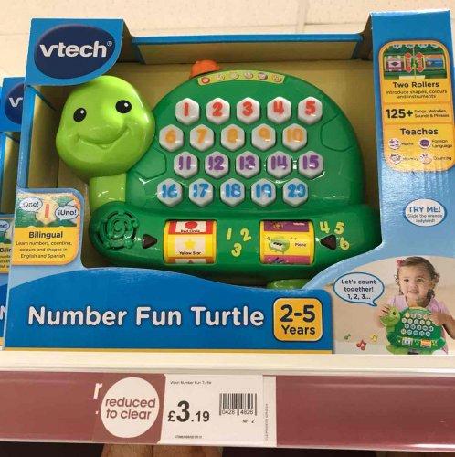 number fun turtle £3.19 @ Wilko instore