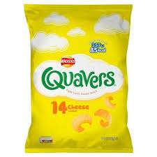 Walkers Quavers Cheese 14 per pack £1.50 @ Morrisons