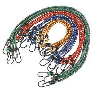 Bungee Cord Assortment 16 Pieces x 8mm was £9.99 now £4.99 @ Screwfix