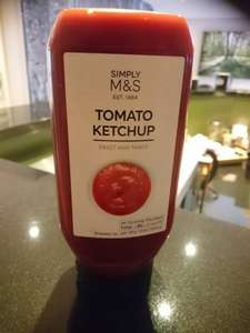 M&S Simply Tomato Ketchup 64p @ Marks and spencer Guiseley