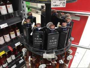 HAIG CLUBMAN 70cl RTC @ Asda ballyclare instore only £11