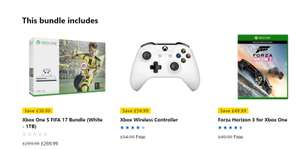 Xbox One S FIFA 17 Bundle (1TB) with Controller and Forza Horizon 3 - Only £269.99 @ Microsoft