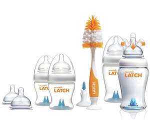 Munchkin Latch New-born Starter Set @ Argos for £7.99, was £19.99