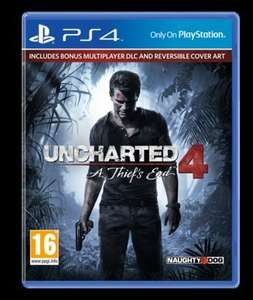 UNCHARTED 4: A THIEFS END PS4 £22 delivered TESCO DIRECT