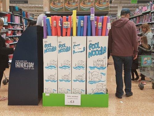 pool noodles £3 instore @ Asda