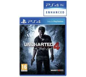 Uncharted 4: A Thief's End Launch Edition (PS4) £20.99 @ Argos