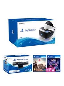 PlayStation VR + VR Worlds + Farpoint + Camera £333.98 @ Very (existing customers)