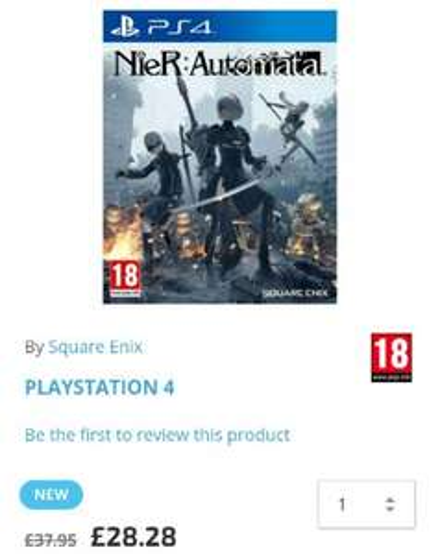 Nier: Automata PS4 £28.28 (TheGameCollection)