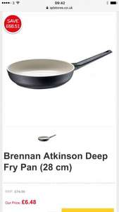 Brennan Atkinson Deep Fry Pan (28 cm) 91% off at QDStore for £6.49