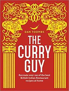 The Curry Guy - Cookbook at Amazon for £6 (£1.99 delivery non-Prime)